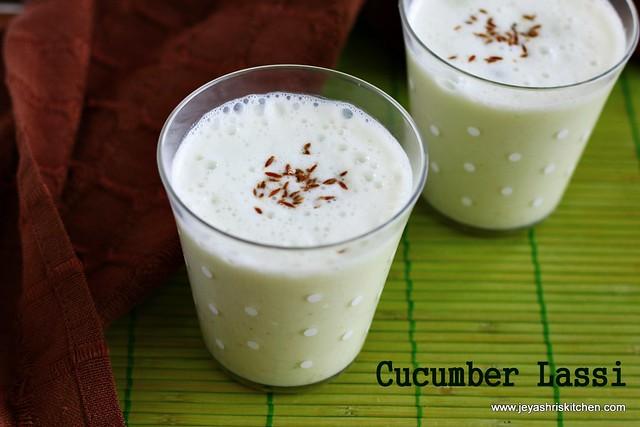 cucumber-lassi