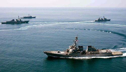 USS Lassen Conducts Multilateral Exercises with Allied Navies
