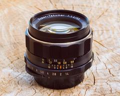 Pentax Super-Takumar 50mm f/1.4 M42 (Rare 8 element)