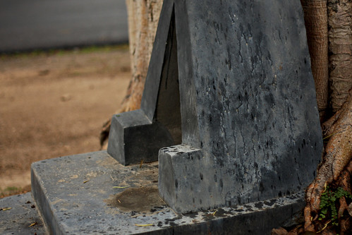 Shrine to concrete