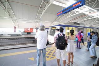 Kuala Lumpur's light rail transit (LRT)