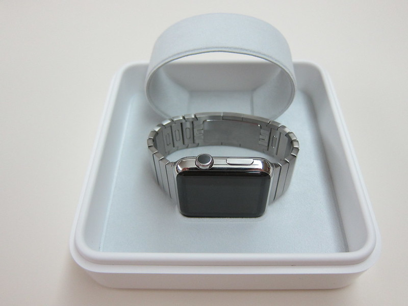 Apple Watch 42mm Stainless Steel Case with Link Bracelet - Apple Watch In Box