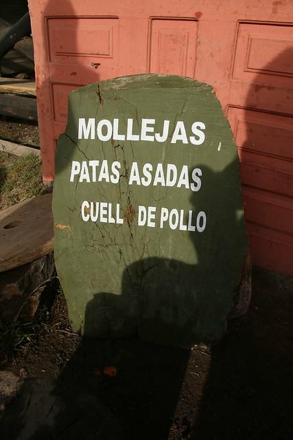 Chicken Gizzards, Quilotoa, Ecuador.
