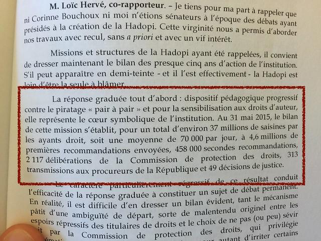 Mission d'information Hadopi juillet 2015