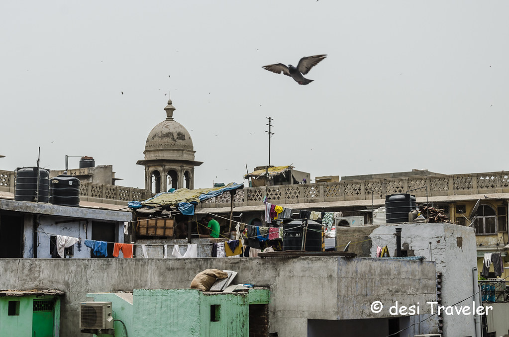 Old Delhi 6 Nat Geo Instawalk bird's eye view