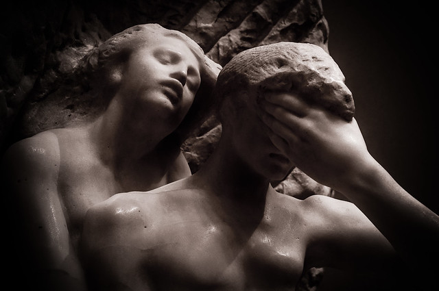 Auguste Rodin - Orpheus et Eurydice
