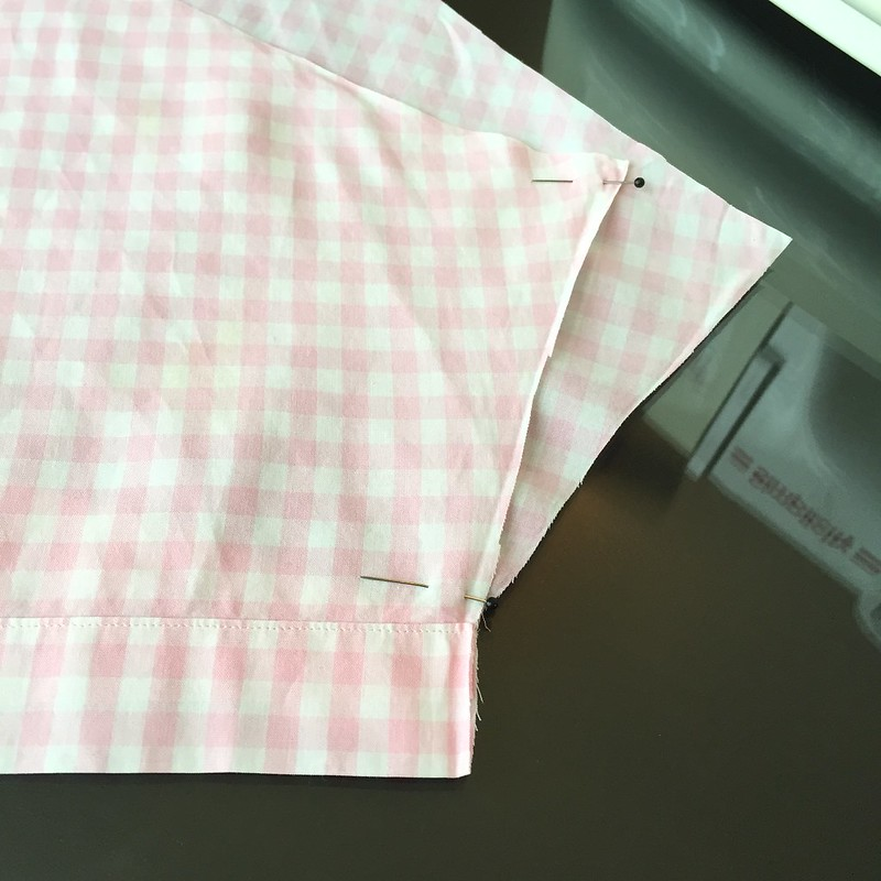 Gingham Sundress - In Progress