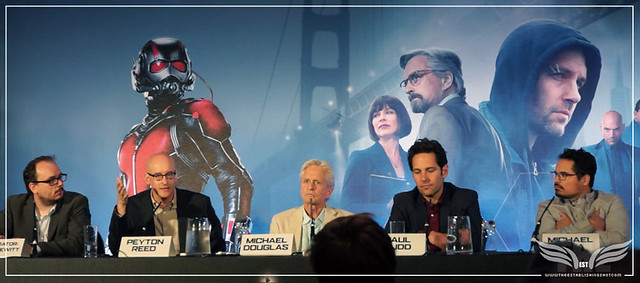 The Establishing Shot: DIRECTOR PEYTON REED TALKS HIS FAVOURITE ANT-MAN COMICS @ THE ANT-MAN EUROPEAN PRESS CONFERENCE - CORINTHIA HOTEL LONDON