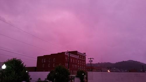 sky clouds wv westvirginia clarksburg