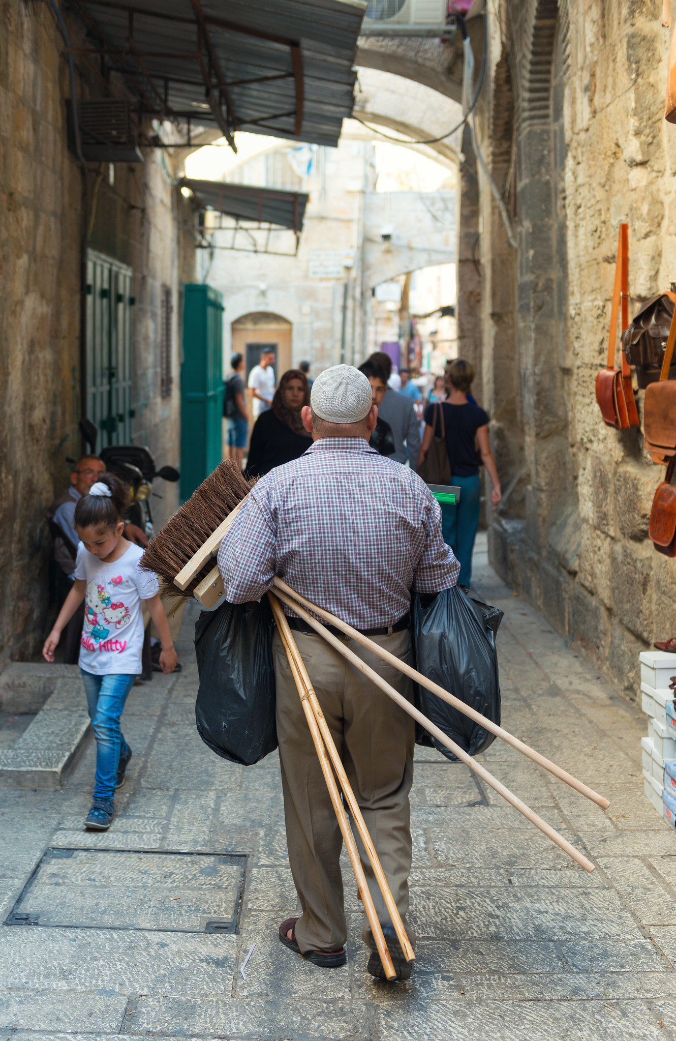 Old City Streetsweeper