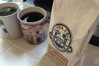 Santa Cruz Coffee Roasting - Santa Cruz dark bag