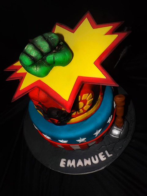 Cake by Nathaly Viquez Ramirez of Jenny's House of Cakes