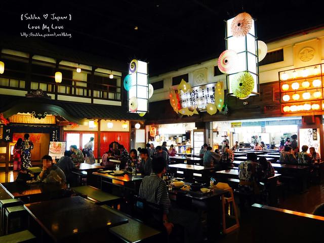 大江戶溫泉物語餐廳美食街吃飯 (10)