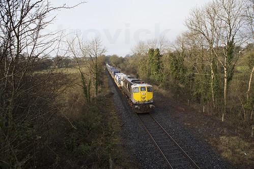 079 on Ballina-Northwall IWT liner near Ballycumber 04-Jan-17