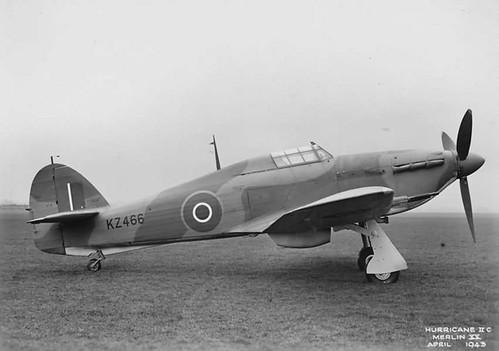 Hawker Hurricane Mk II C KZ466.