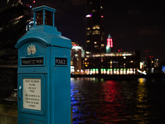 Old police call box