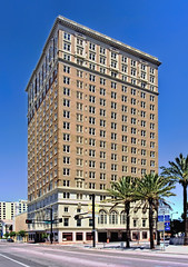 Floridan Palace Hotel, 905 N. Florida Avenue, Tampa, Florida, USA / Built: 1926-1927  / Architects:  Francis J. Kennard & Son Architects, G.A. Miller / Architectural style: Renaissance Revival / Added to NRHP: March 12, 1996