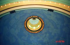 Tampa Florida ~ aka ~ Tampa Hall ~ Dome of Plant Hall's Fletcher Lounge  ~ University of Tampa ~  Henry B. Plant Museum ~ University of Tampa ~ Historical Hotel