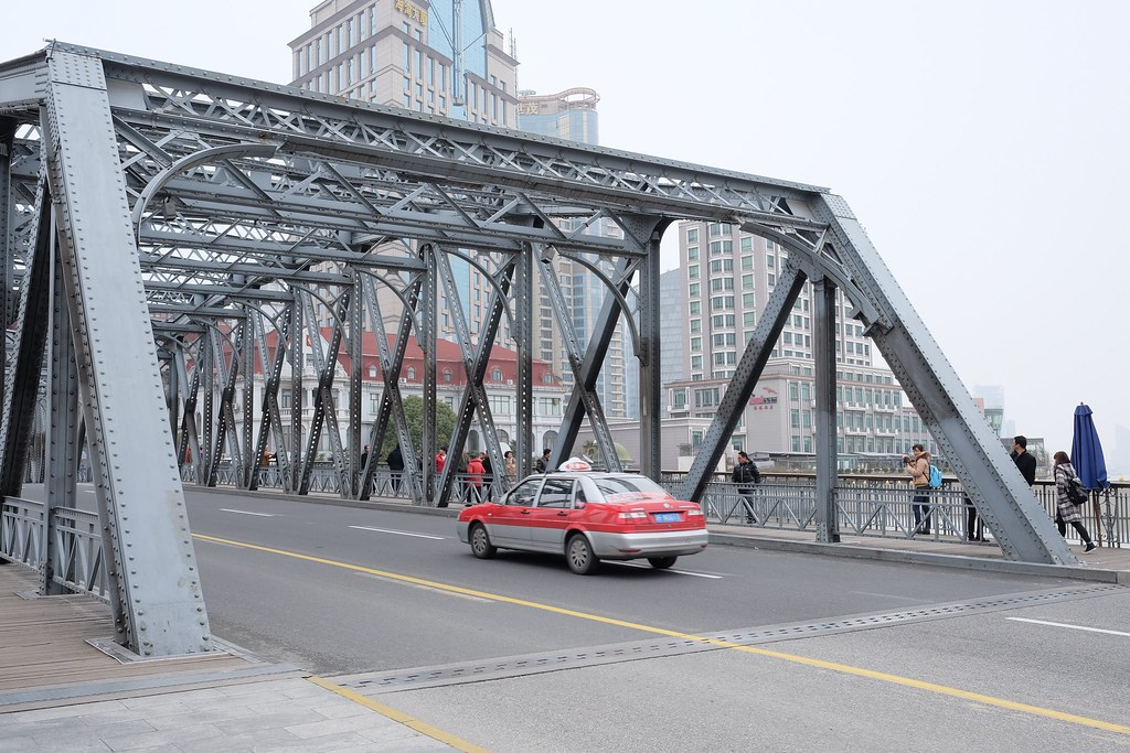Shanghai Camelback Truss Bridge