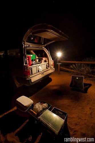 Dinner Chuck-Wagon Style...