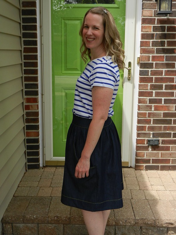 Brumby Skirt side