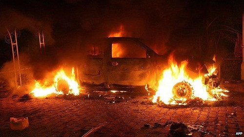 US says Benghazi suspect killed