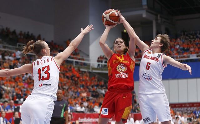 medalla Bronce España en Eurobasket 2015