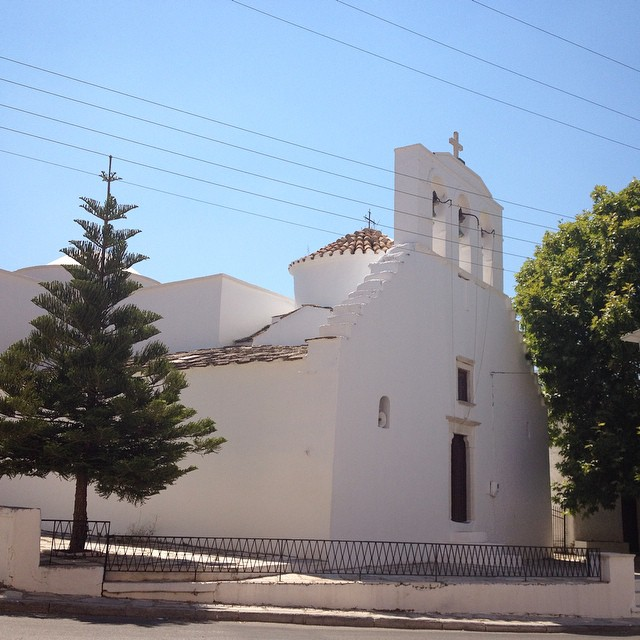 One of 575 churches in Naxos