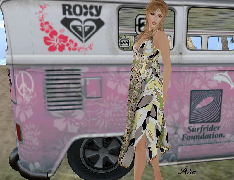 ALB Holidaying in FF Boho Sundress12