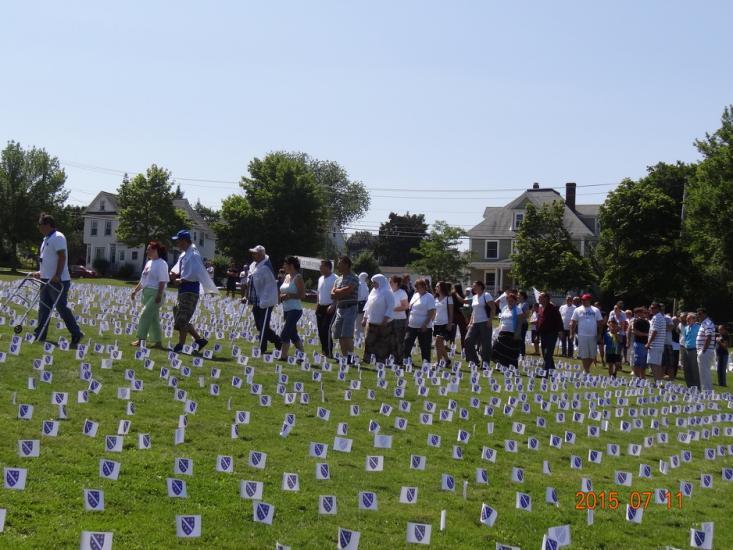 Sjecanje na Srebrenicu, ABNH-2015 - 3