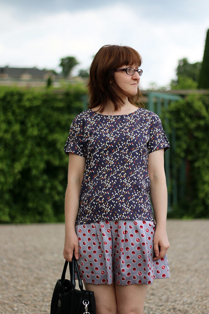 Onyx Shirt by Paprika Patterns in Sanssouci Park Potsdam