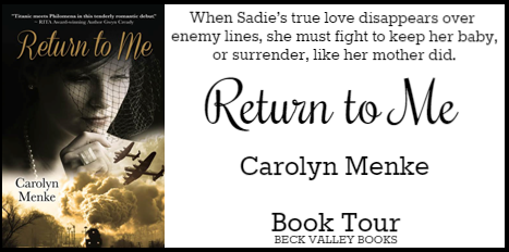 Beck Valley Book Tour & Giveaway – Return to me by Carolyn Menke