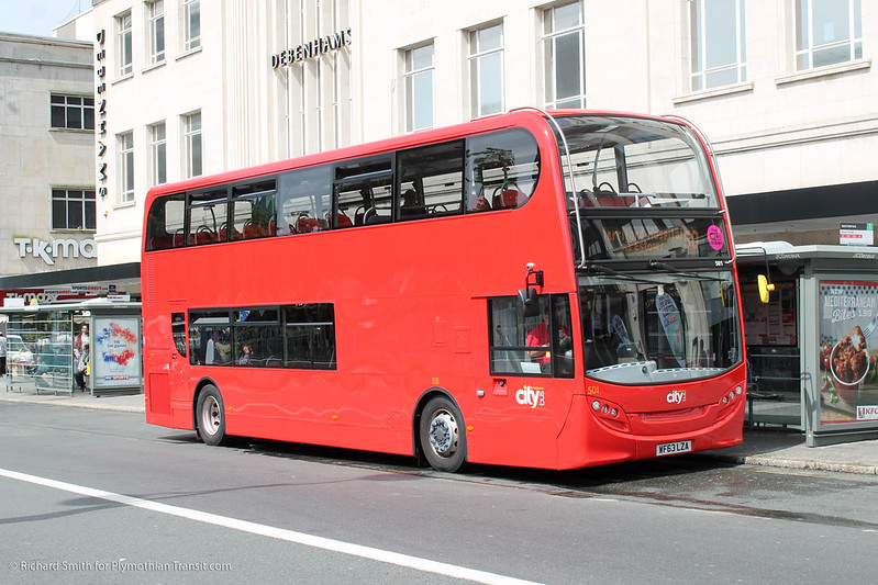 Plymouth Citybus 501