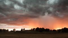 Sunset stormy sky #2 - Photo of La Fage-Montivernoux
