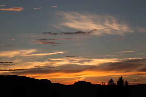 sunset utah unitedstates moab