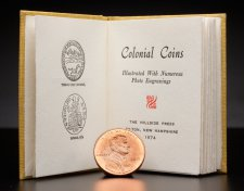 Miniature Colonial Coins book