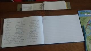 Fernie Museum Guest Book