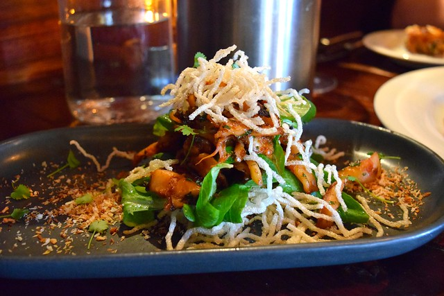 Squid & Crispy Noodles at The Finnieston, Glasgow