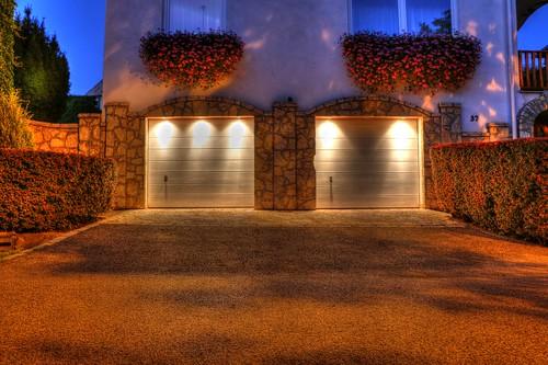 door light sunset house flower night digital canon eos lights garage budapest hdr 70d
