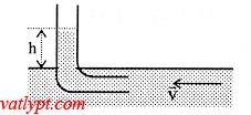 Bài tập định luật Béc-nu-li, sự chảy ỗn định của chất lỏng, vật lý lớp 10 cơ học chất lưu