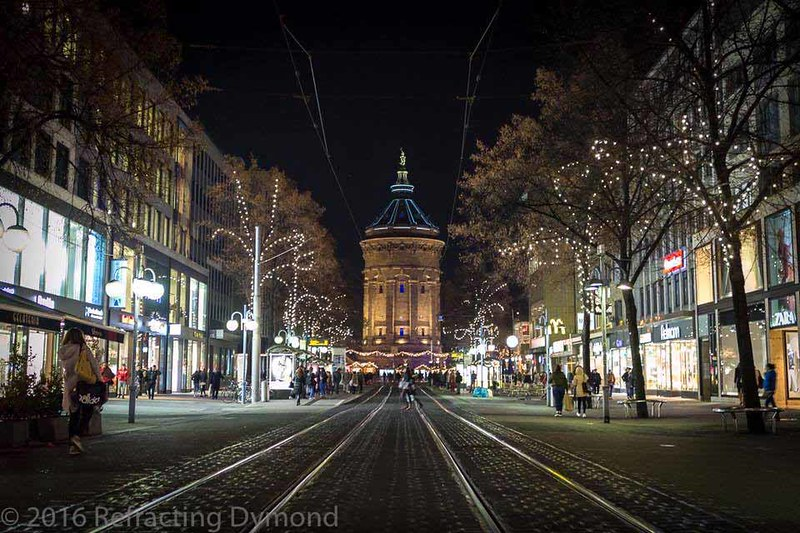 Mannheim at Christmas