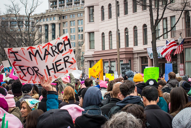 DC Women's March from Flickr via Wylio