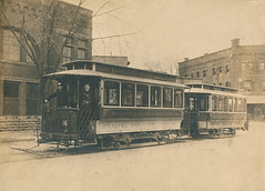 Capital Traction streetcar at 14th and Park Road NW c. 1900