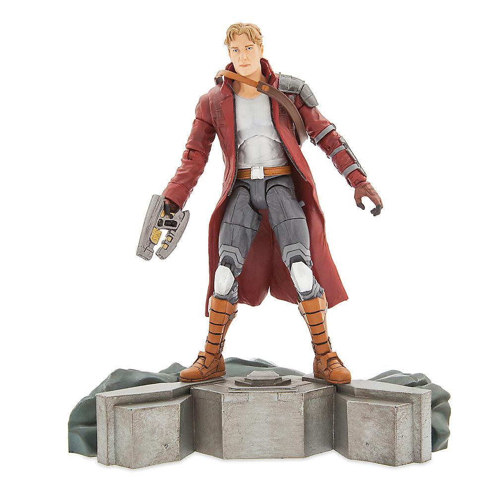 Marvel Select【星際異攻隊:星爵彼得.傑森.奎爾】Guardians of the Galaxy Star-Lord 7 吋可動人偶作品