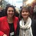 12. Februar 2017: Carola Reimann und Petra Stucke-Schröder beim Empfang des Bundestagspräsidenten nach der Bundesversammlung