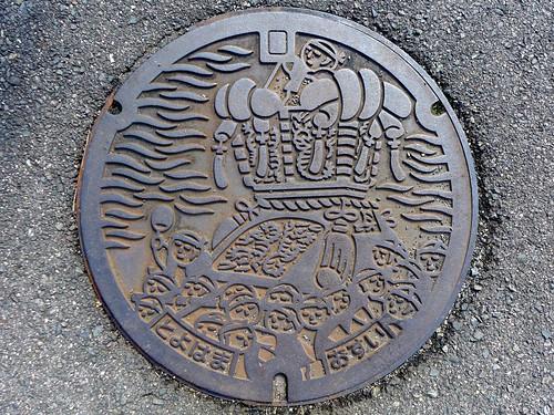 Toyohama Kagawa, manhole cover (香川県豊浜町のマンホール)