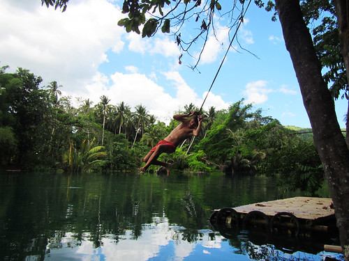 Loboc River Swing