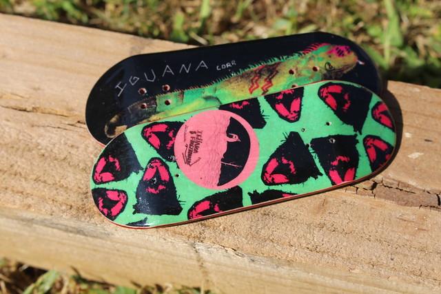 Iguana Fingerboards
