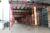 scaffolding, swing, swing stage, suspended, overhead protection, canopy, scaffold, superior scaffold, 215 7432200, rental, rents, rent, 275 by Superior Scaffold