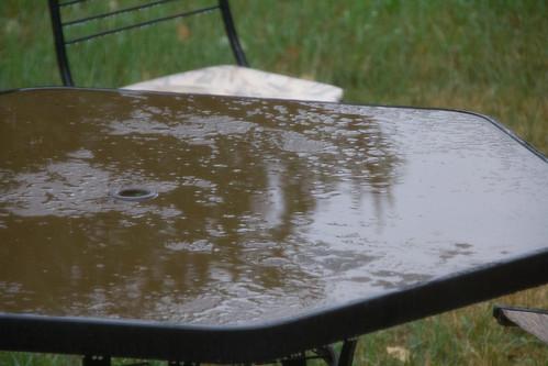 Summer rain!